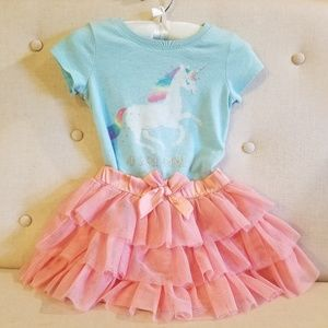 Baby Gap/The Children's Place unicorn outfit